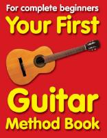 Your First Guitar Method Book