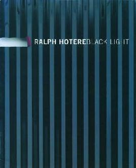 Cover of Ralph Hotere: Black light