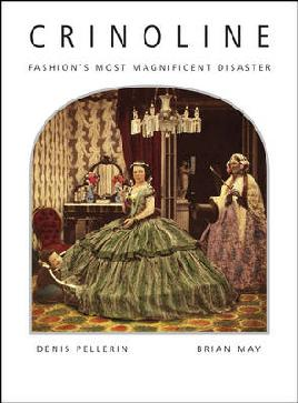 Cover of Crinoline: Fashion's most magnificent disaster