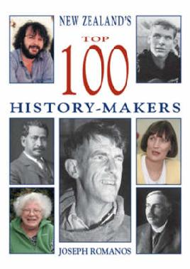 Cover of New Zealand top 10 history makers