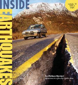 Book cover of inside earthquakes