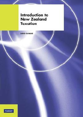 Cover of Introduction to New Zealand Taxation