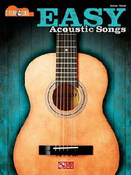 Cover of Easy acoustic songs