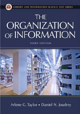 The Organisation of information