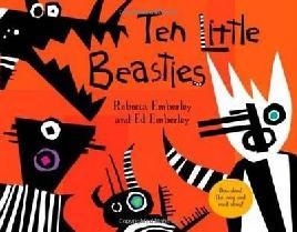 Cover of Ten Little Beasties
