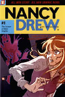 Cover of Nancy Drew, Girl Detective number 1, The Demon of River Heights