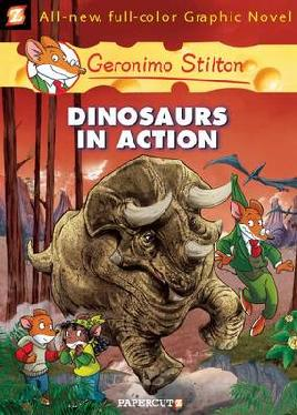 Cover of Dinosaurs in action