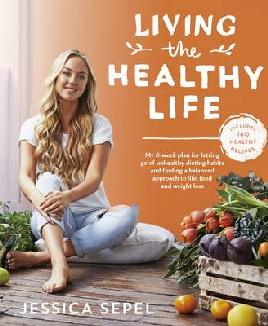 Cover of Living the healthy life