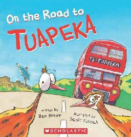 Book Cover of On The Road to Tuapeka