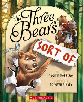Book Cover of The Three Bears Sort of
