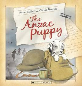 Cover of The Anzac Puppy