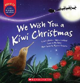 Book cover of we wish you a kiwi christmas