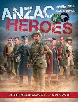 cover of Anzac heroes