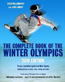 Cover of the Complete book of the winter Olympics