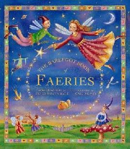 Book cover of the Barefoot book of fairies