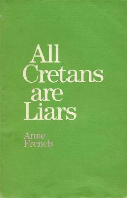 Cover of All Cretans are liars