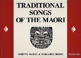 cover of Traditional songs of the Maori