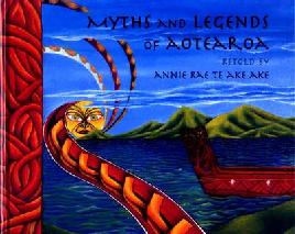 Book Cover of Myths and Legends of Aotearoa