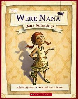 Book cover of The Were-nana