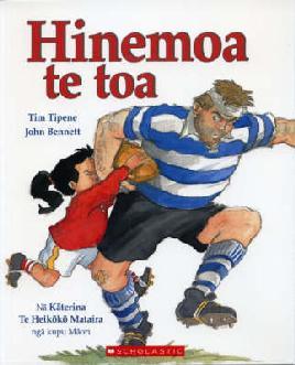 Book cover of Himemoa Te Toa
