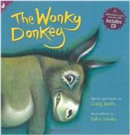 Cover of The Wonky Donkey