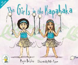 Book Cover of The Girls in the Kapahaka