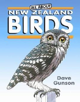 Cover of All about New Zealand birds