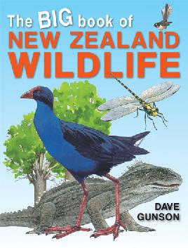 Book Cover of The Big Book of NZ Wildlife