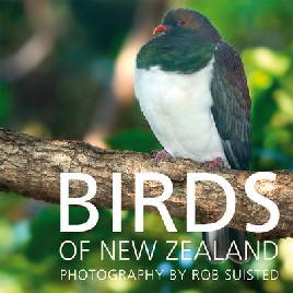Book cover of Birds of New Zealand
