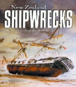Book cover of new zealand shipwrecks