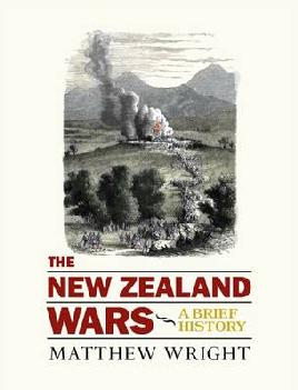Cover of The New Zealand Wars: A brief history