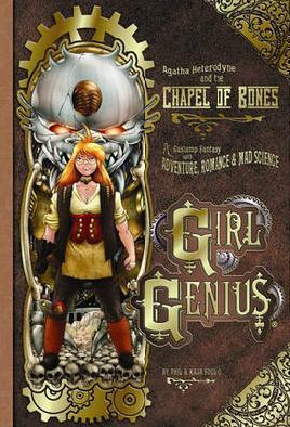 Cover of Girl genius: Chapel of bones