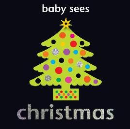 Book cover of baby sees christmas