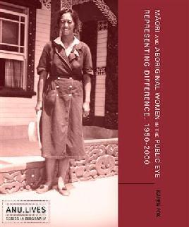 Cover of Maori and Aboriginal women in the public eye
