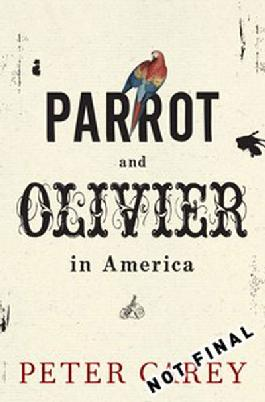 Cover of Parrot and Olivier in America