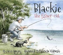 Cover of Blackie the fisher cat