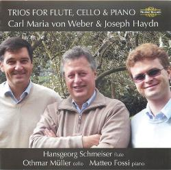 Trios for flute, cello & piano