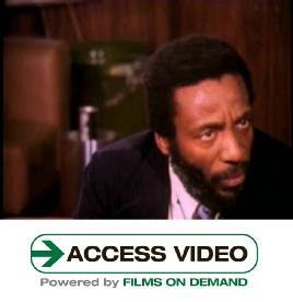 Dick Gregory Discusses John F. Kennedy's Assassination Ca. 1970