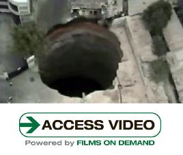 Swallowed By A Sinkhole