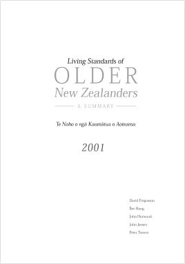 Living Standards of Older New Zealanders
