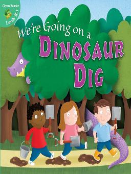 Cover of We're going on a dinosaur dig