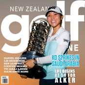 Cover of New Zealand Golf