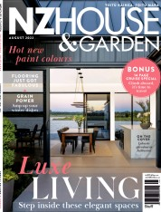 Cover of NZ House and Garden