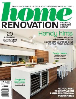 Cover of Home renovation magazine
