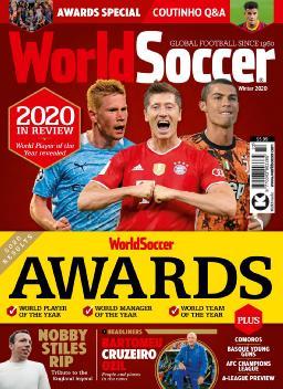 Cover of World Soccer