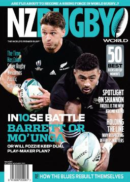Cover of NZ Rugby World