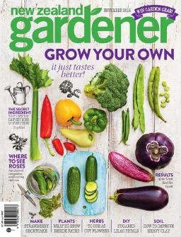 Cover of New Zealand Gardener
