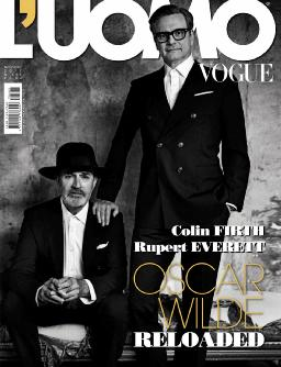 Cover of L'Uomo Vogue