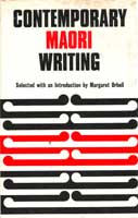 Cover of Contemporary Maori writing