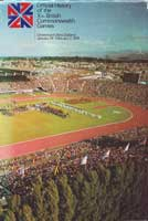 Book cover of Official History of the Xth Commonwealth Games